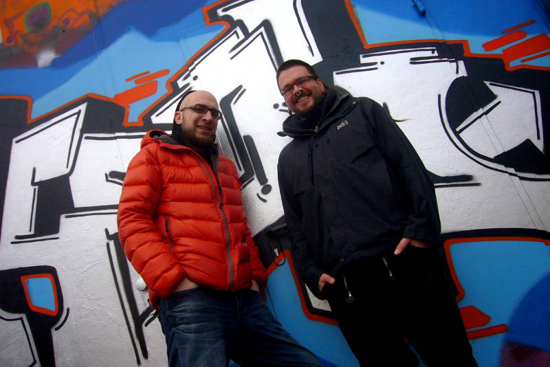Kosmar & Guido in Ulm 2012.