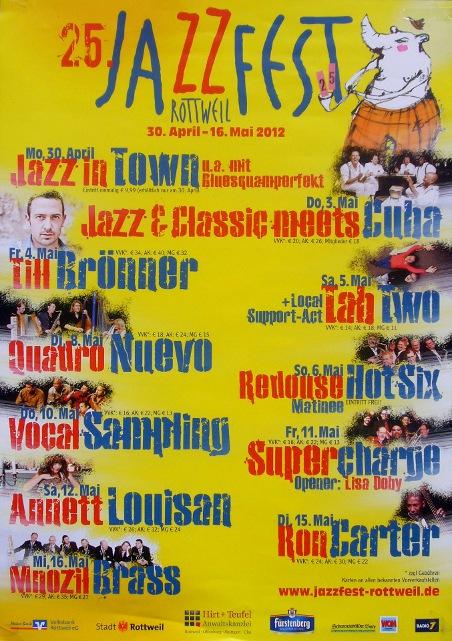 TAB TWO in Rottweil, Jazzfest 2012