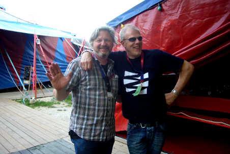 Meet & Greet at Ulmer Zelt 2012: Udo Eberl & Hellmut Hattler.