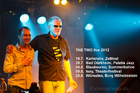 TAB TWO live in summer 2012. Photo: Christopher Rückert.