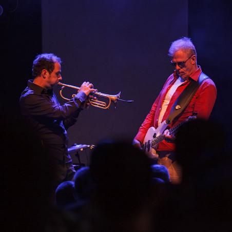 TAB TWO live 2012 - Joo Kraus & Hellmut Hattler. Photo: Chris Marquardt.