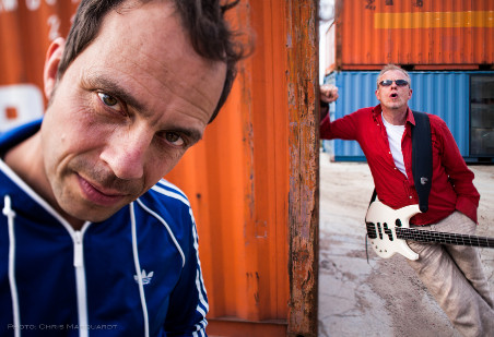 TAB TWO 2012 - Joo Kraus & Hellmut Hattler. Photo: Chris Marquardt.