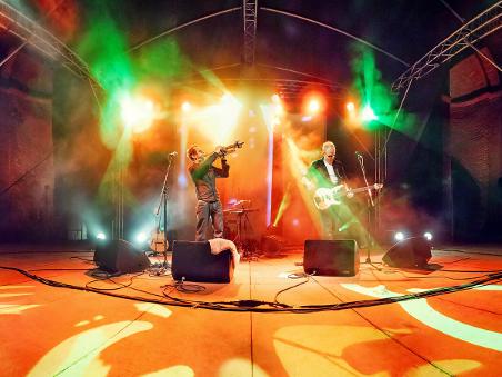 TAB TWO at Palatia Jazz 2012. Panorama: Josh von Staudach.