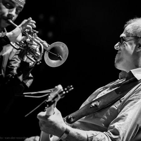 TAB TWO live 2012 - Joo Kraus & Hellmut Hattler. Photo: René van der Voorden.