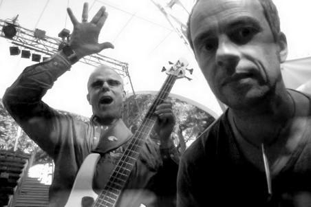 TAB TWO: Hellmut Hattler & Joo Kraus. Photo: Joo Kraus 2012.