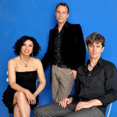 Bossarenova Trio: Paula Morelenbaum, Joo Kraus, Ralf Schmid.
