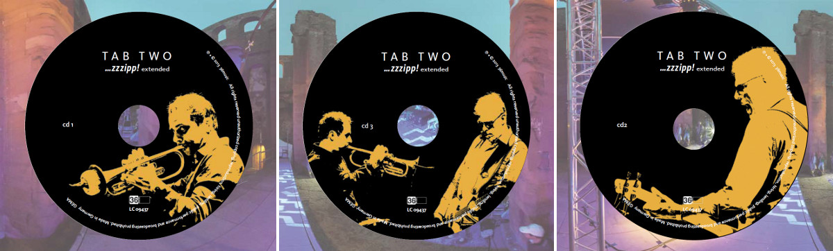"TAB TWO: ""...zzzipp! extended"" CD 1-3"