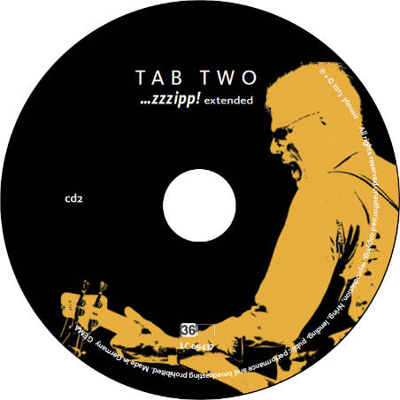 TAB TWO ...zzzipp! extended CD 2