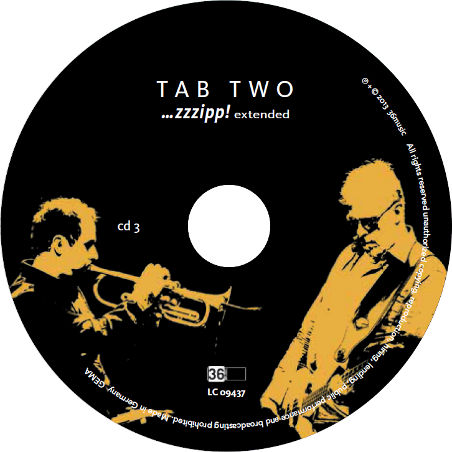 TAB TWO ...zzzipp! extended CD 3