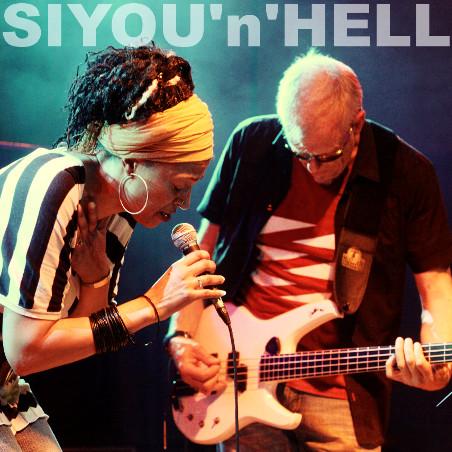 SIYOU'n'HELL - Siyou & Hellmut Hattler. Photo: Josh von Staudach.