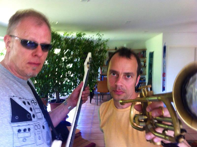 TAB TWO: Hellmut Hattler & Joo Kraus. Rehearsals June 2013.