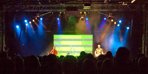 TAB TWO -  Live at the Roxy. Photo: Josh von Staudach.